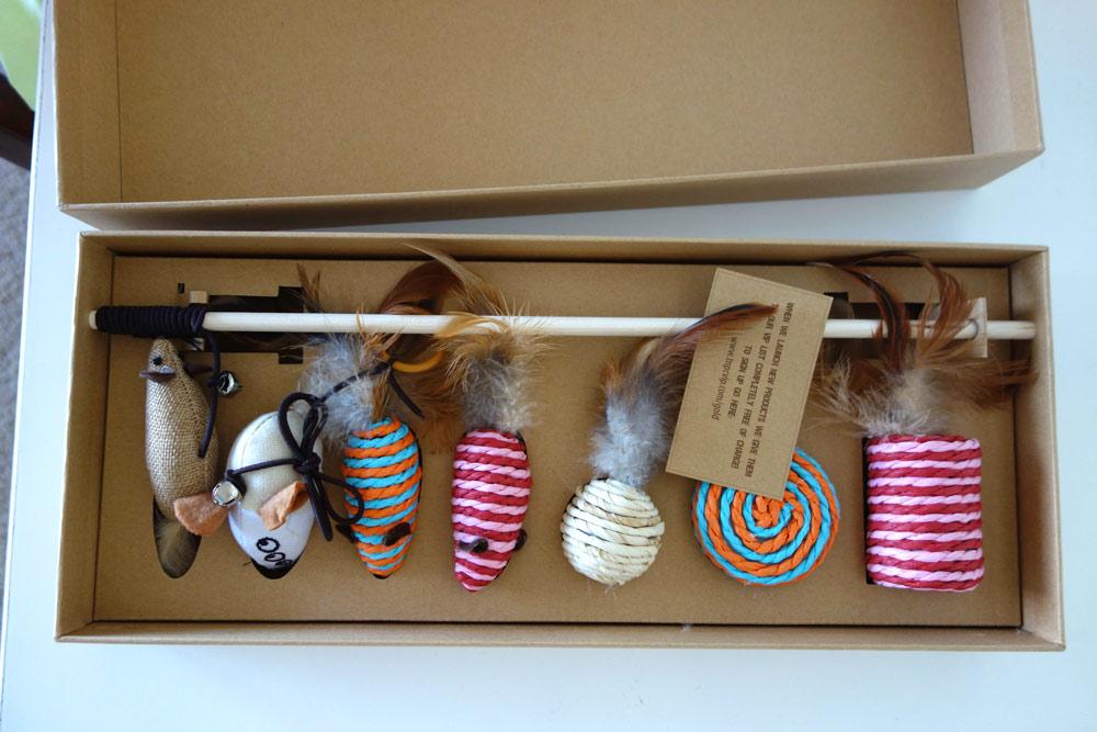 Natural Pet Company cat toys