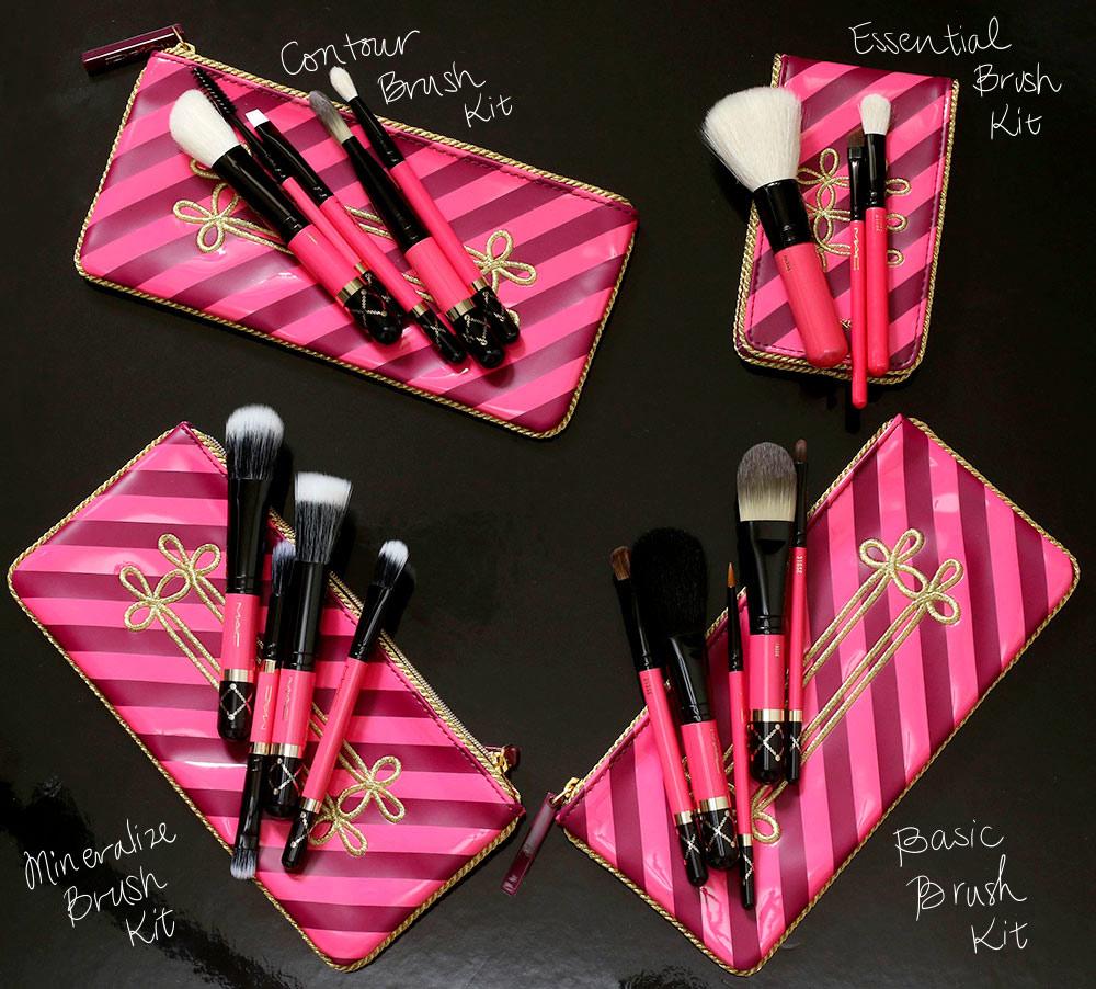 mac nutcracker sweet brush kits