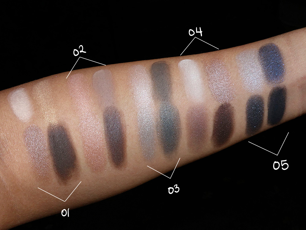body shop down to earth eye palette swatches