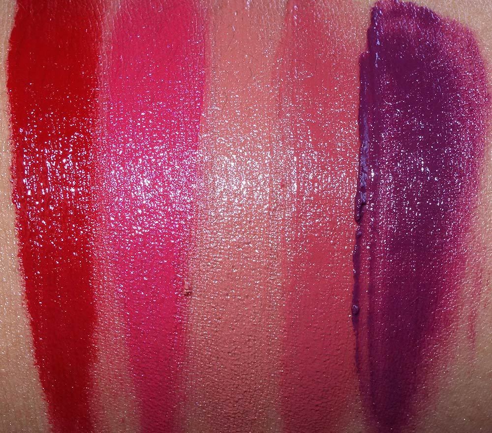 buxom freezes over wildly whipped lightweight liquid lipstick swatches