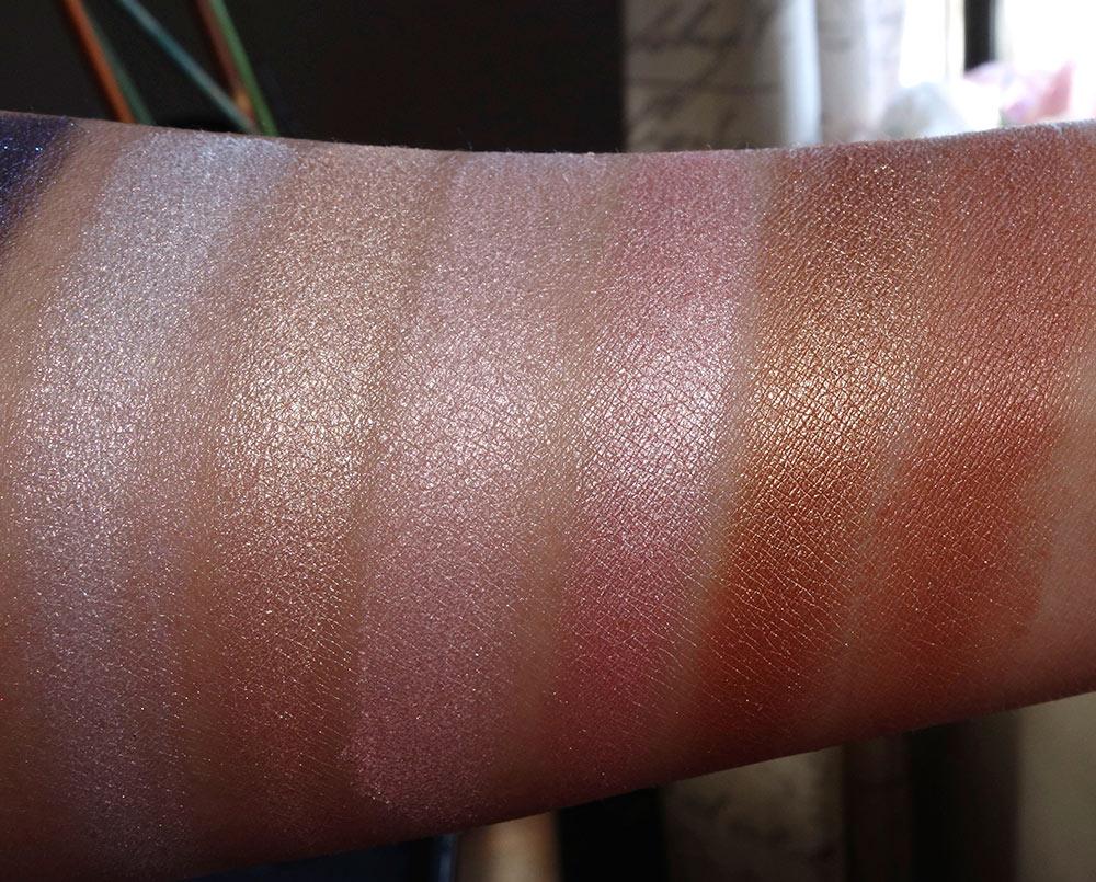 estee edit glow face eye palette swatches