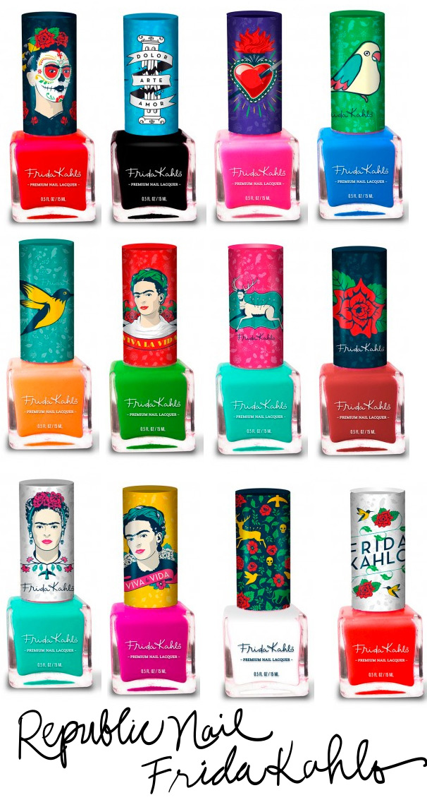 Tuesday Temptations: Trying to Track Down the Republic Nail Frida ...