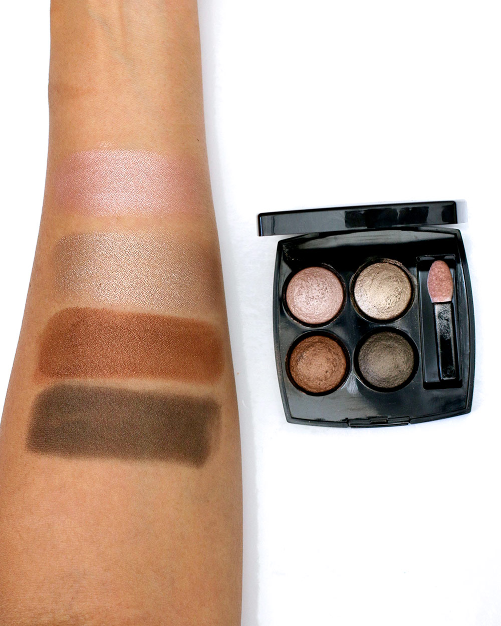 chanel codes subtils swatches