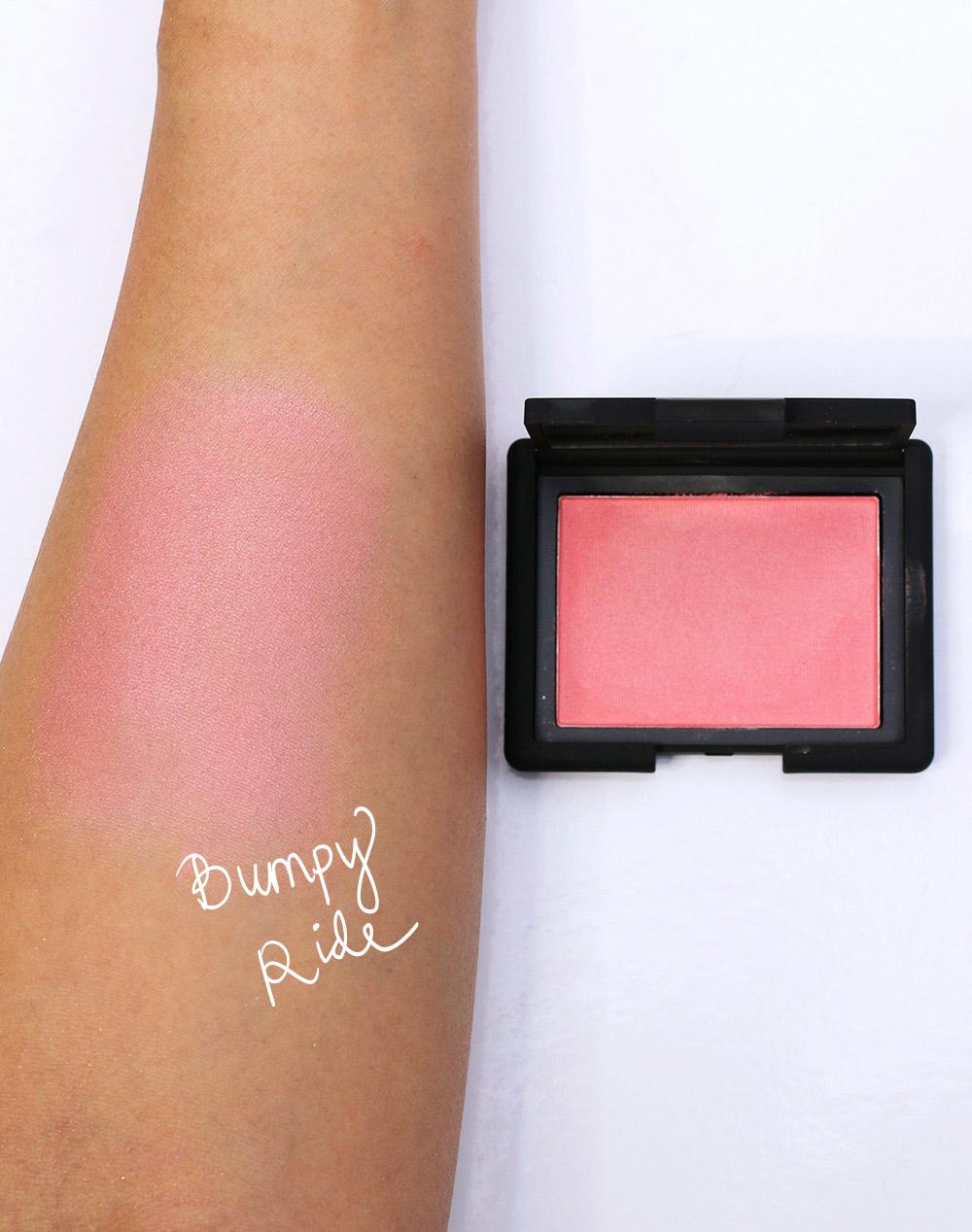 nars bumpy ride blush swatch