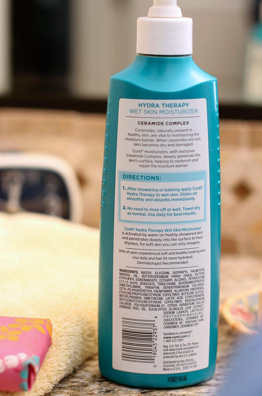 curel hydra therapy wet skin moisturizer 2