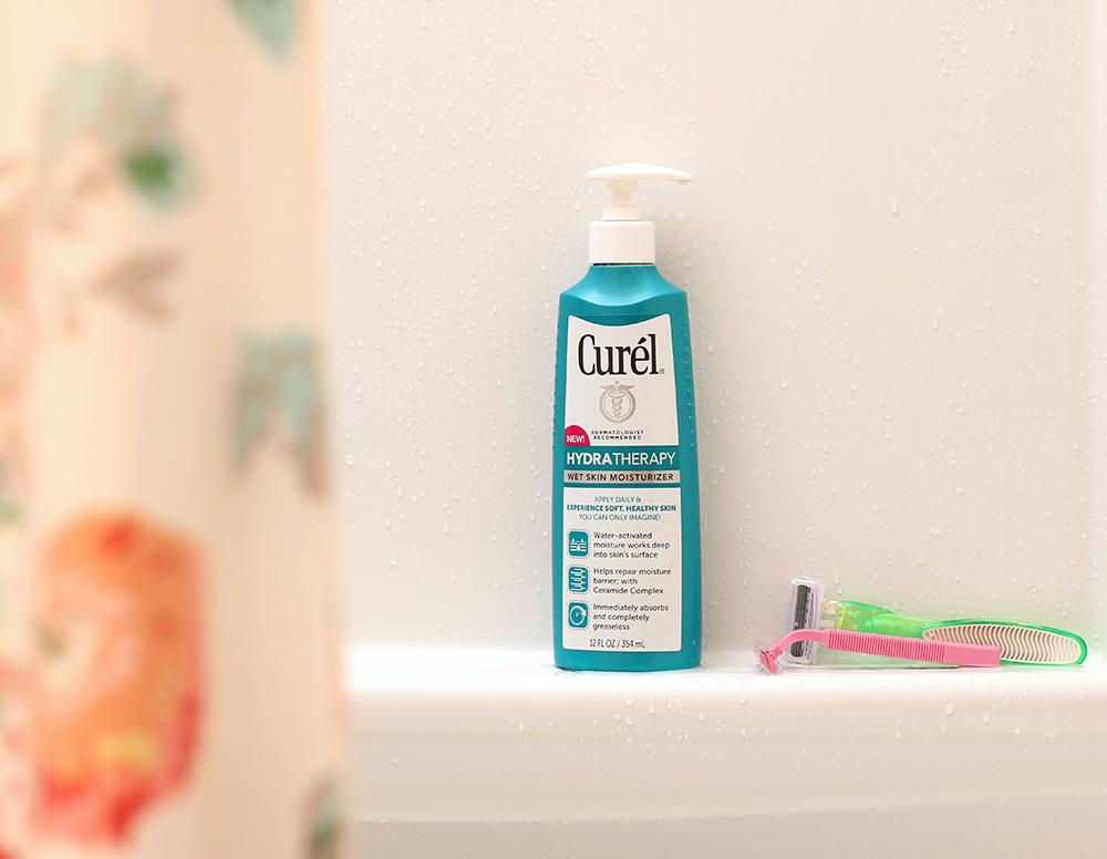 curel hydra therapy wet skin moisturizer 3