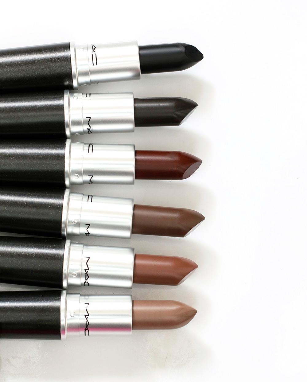 mac colour rocker browns