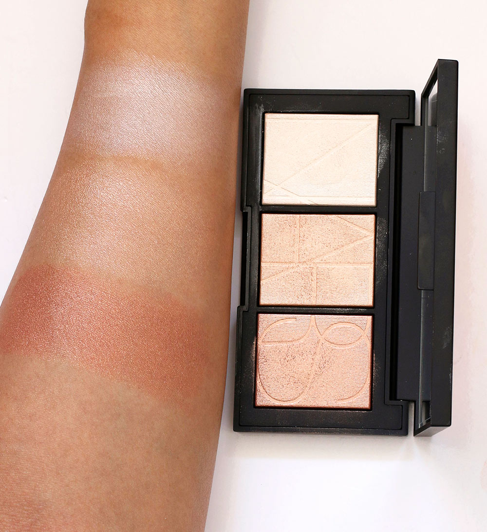 nars banc de sable swatches