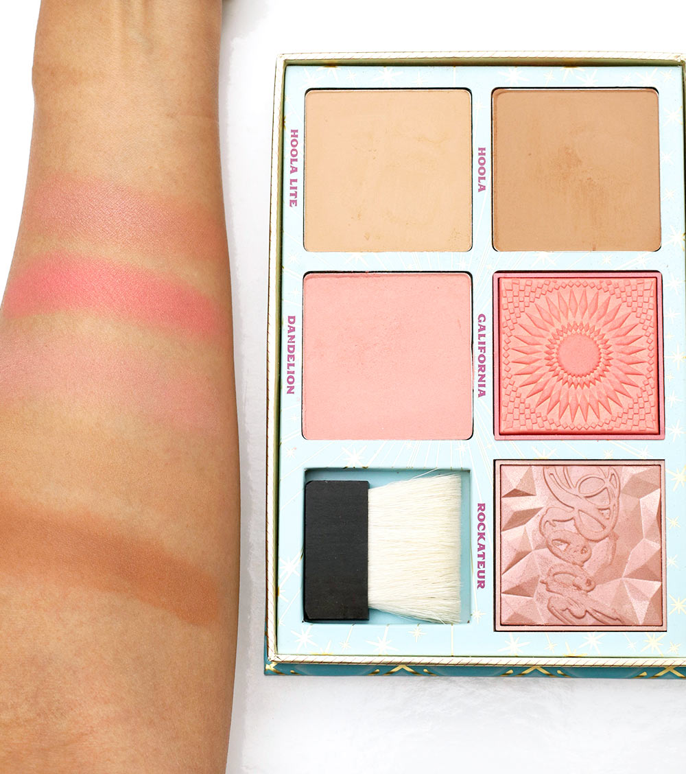 benefit cheek parade blush kit swatches