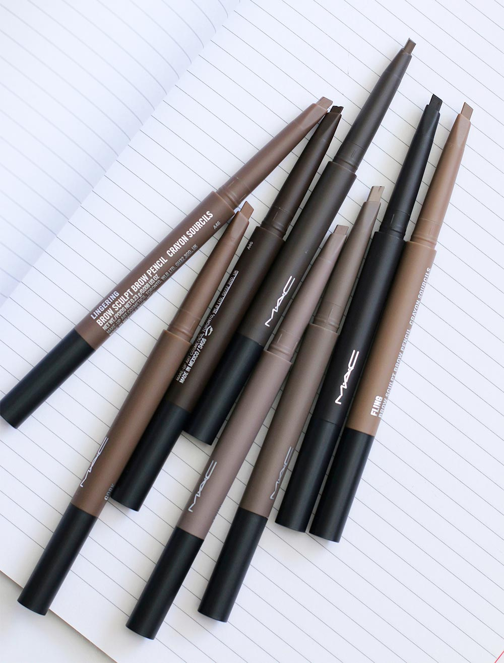 Mac Great Brows Brow Sculpt And Brushstroke Liners From The Mac