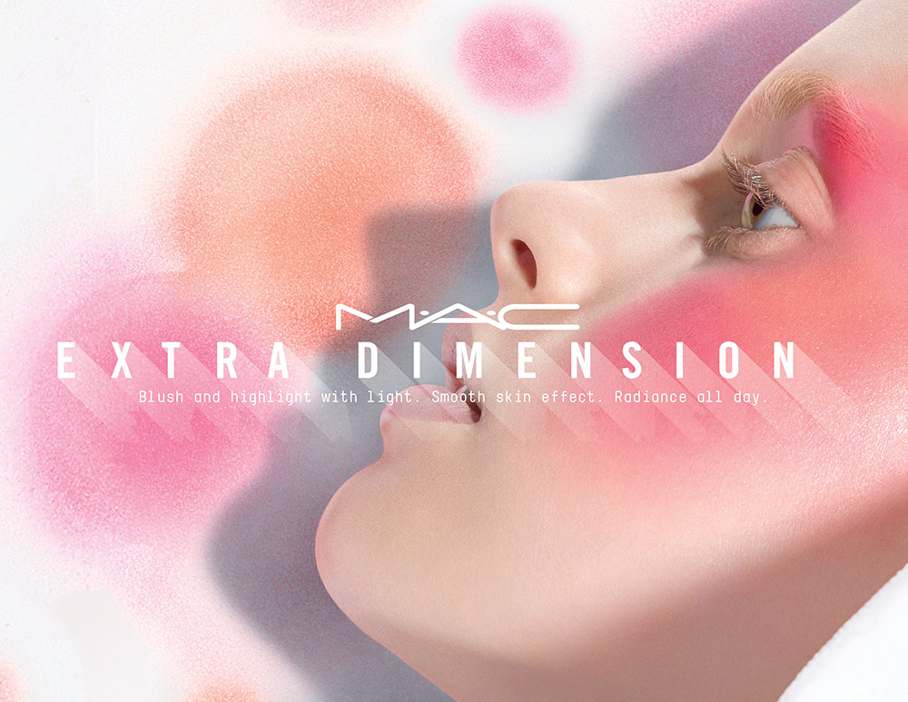 mac extra dimension blush skinfinish april 2017