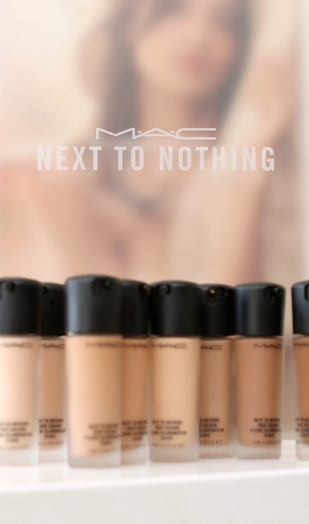 Mac Next To Nothing Collection Face Colours Pressed