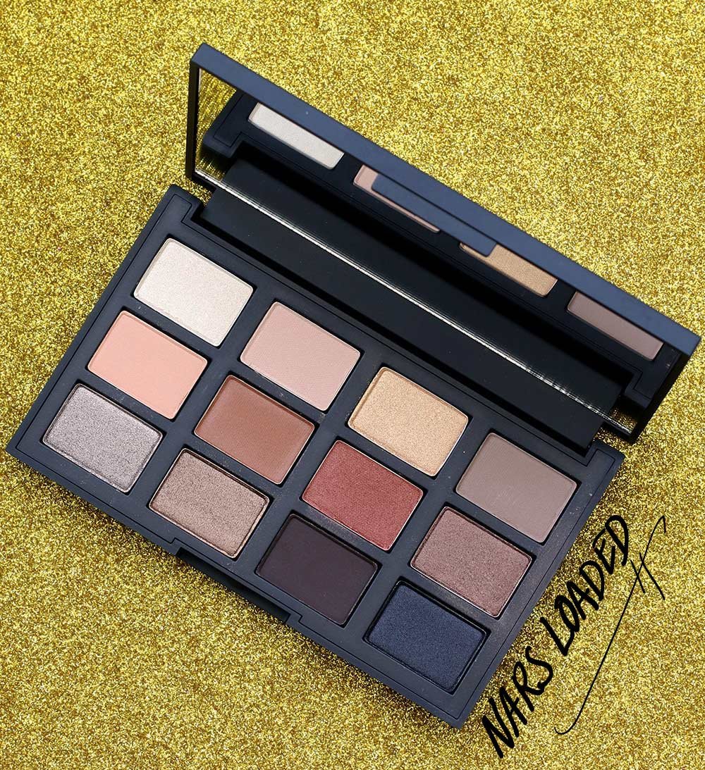 nars loaded eyeshadow palette open
