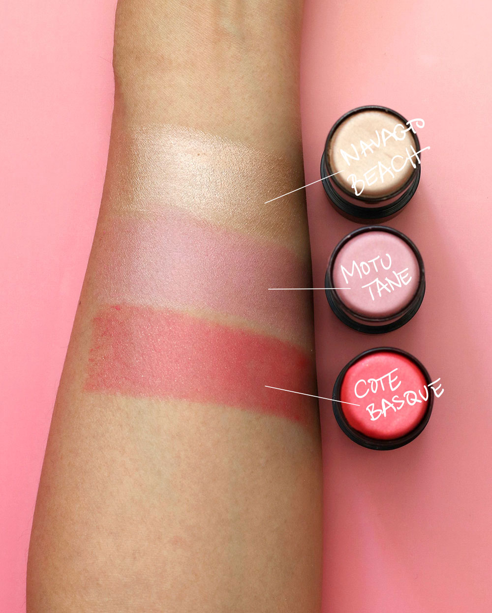 nars pop goes the easel sheer pop multiple swatches final