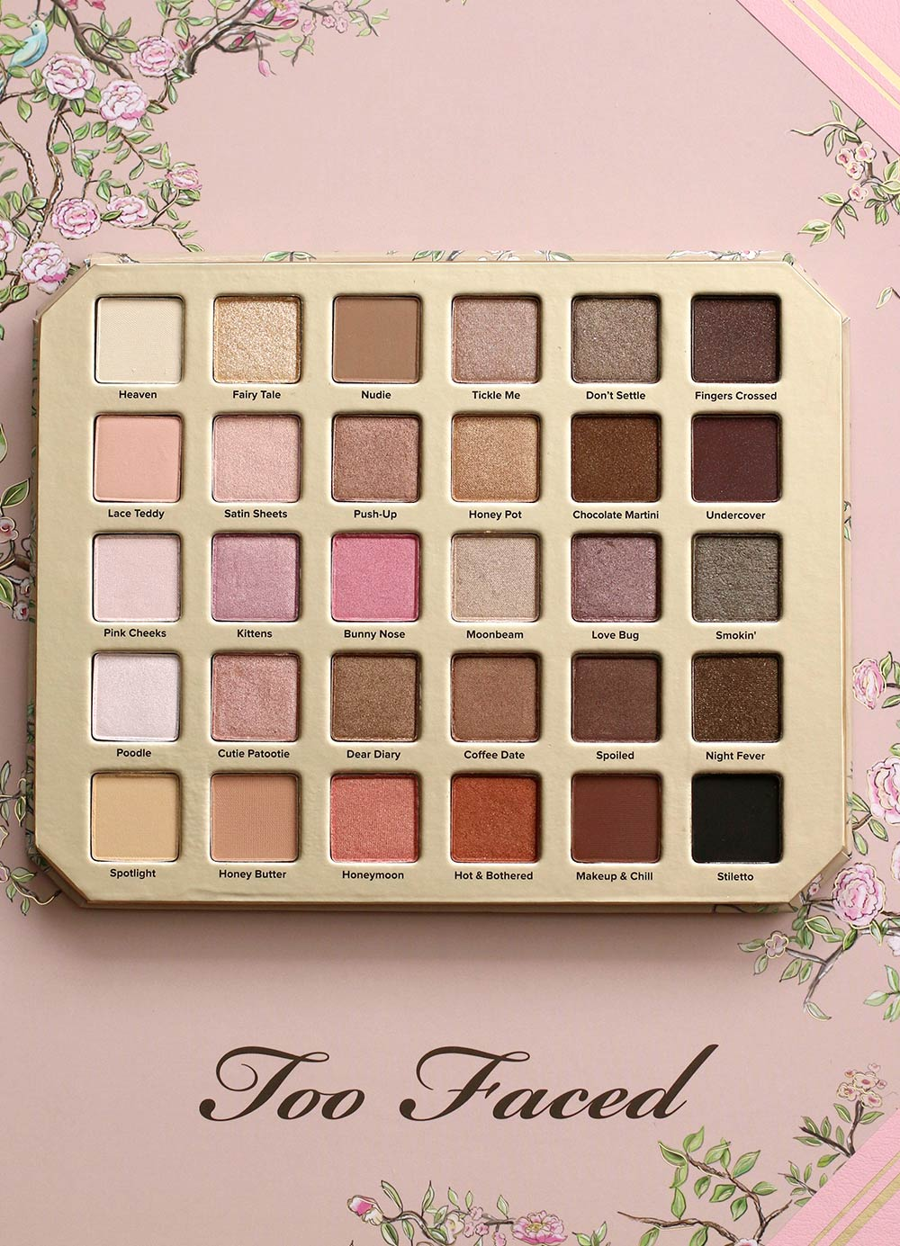 Too Faced Love Natural Palette