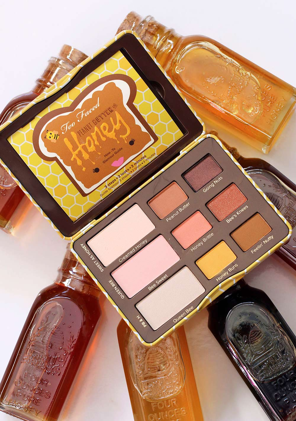 too faced peanut butter honey palette
