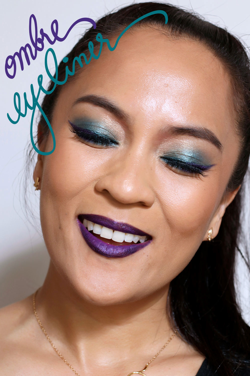 Makeup Bloggers On Youtube: Fri-Yay Makeup Fun: Ombre Eyeliner
