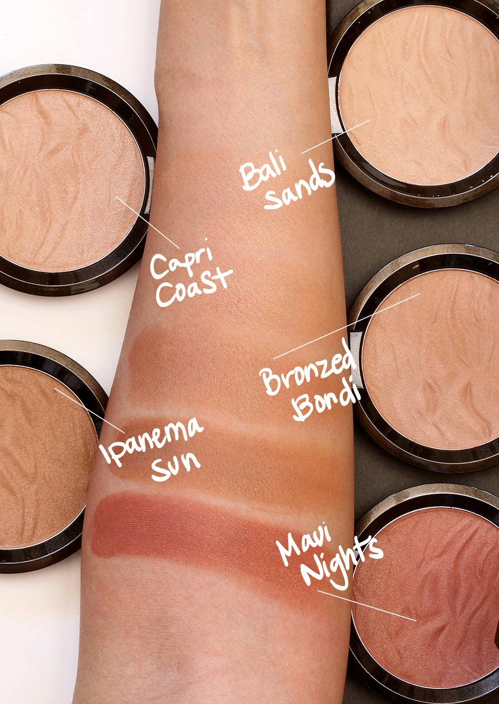 New Becca Sunlit Bronzers They Powders