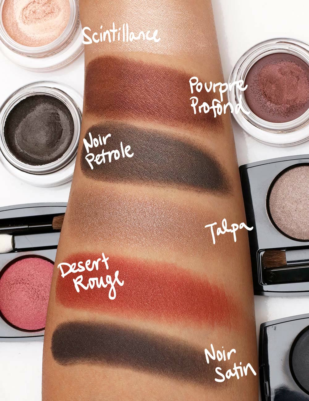 chanel ombre premier swatches
