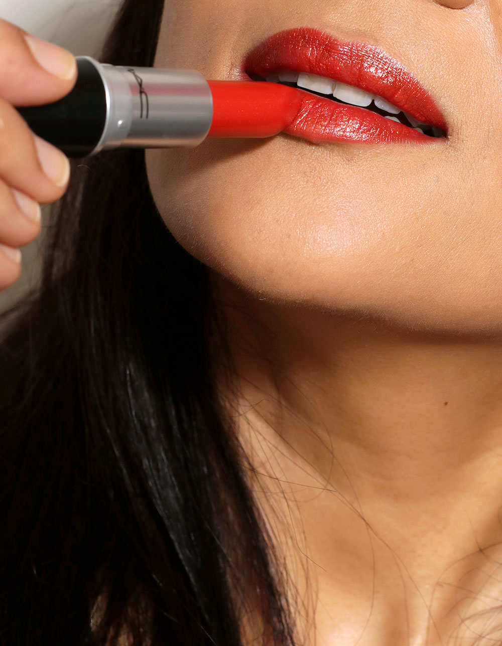 mac coral optix lipstick