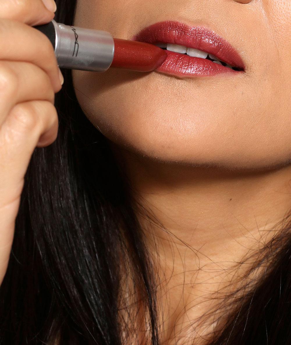 mac forbidden romance lipstick
