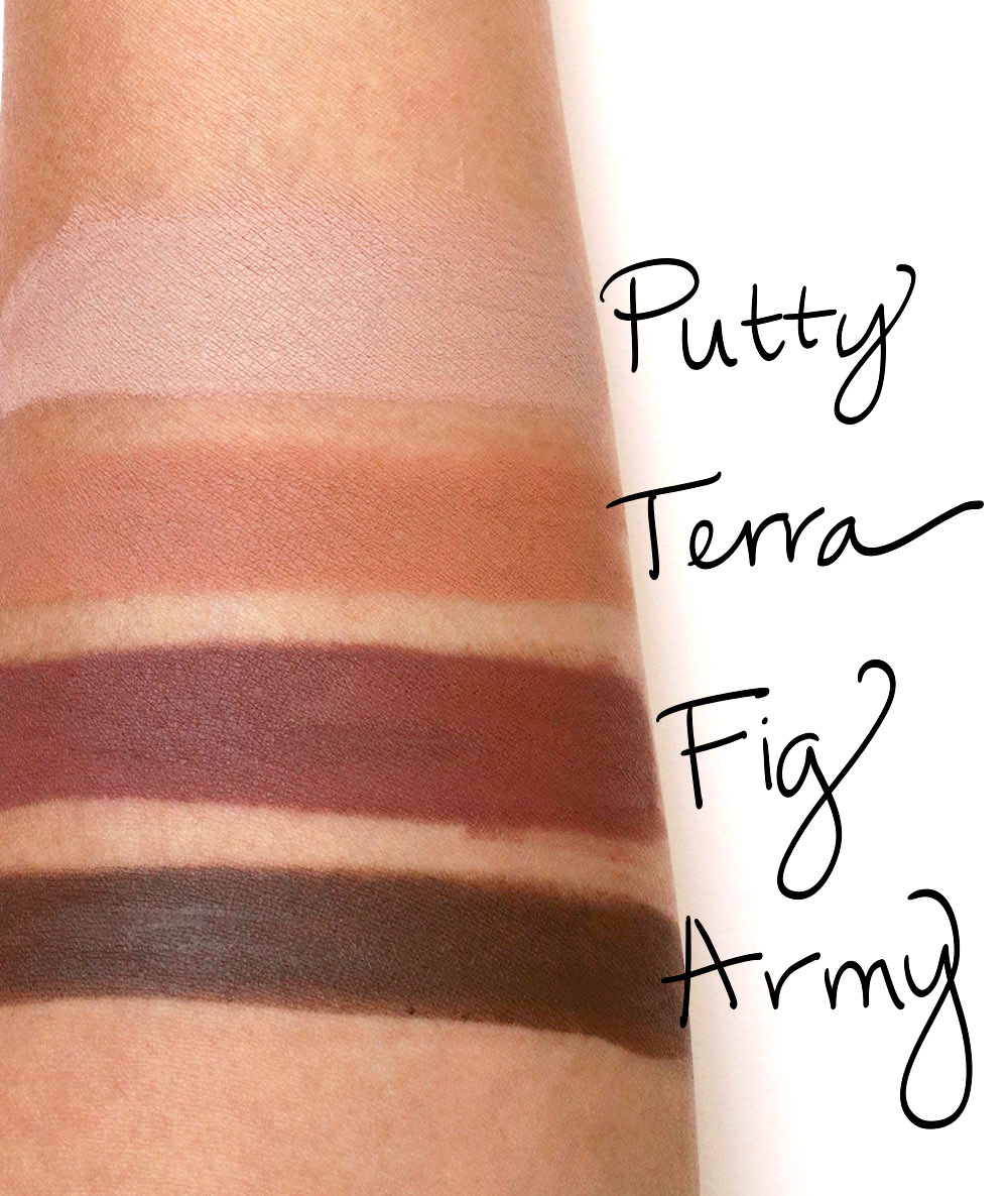 nudestix magnetic eye color swatches