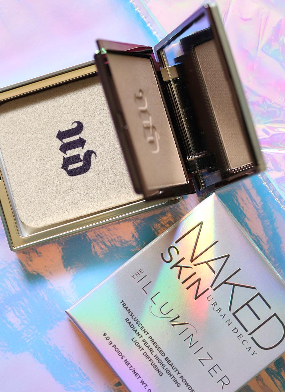 urban decay naked skin illuminizer translucent pressed beauty powder packaging