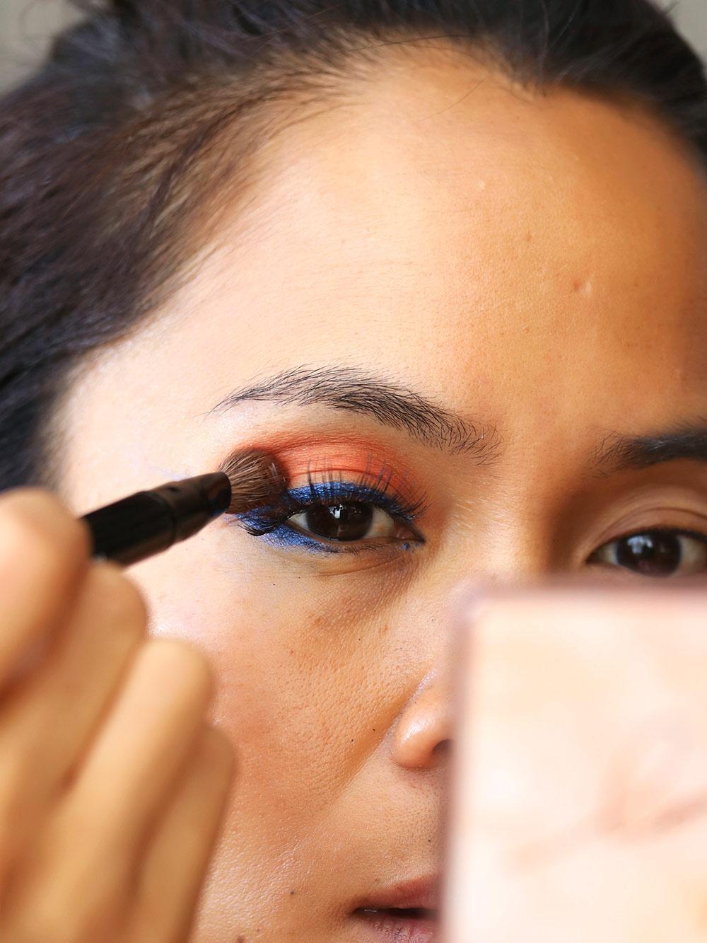 3 mac chromat sabina sangre eyeshadow