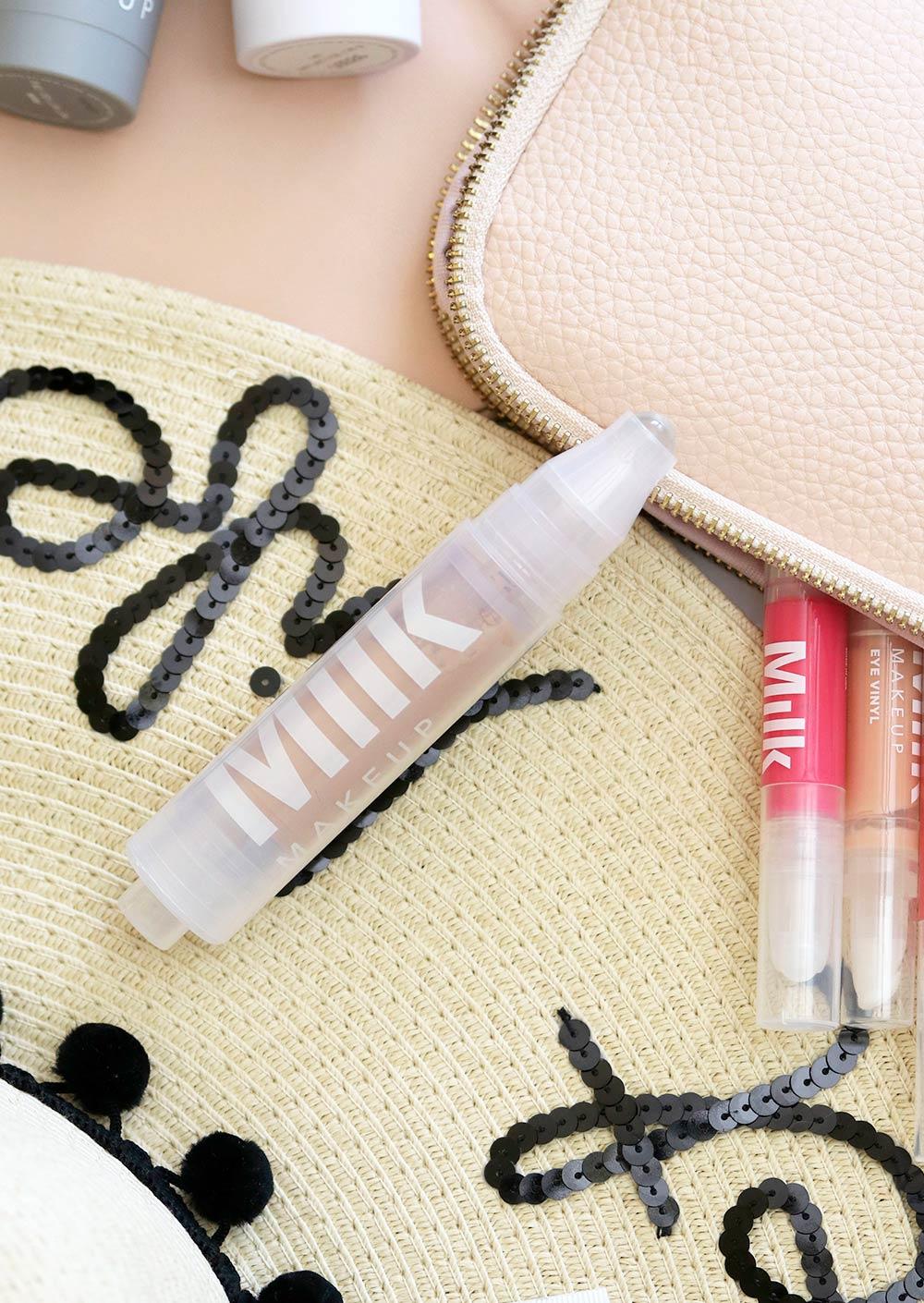 milk makeup sunshine skin tint in honey flat lay