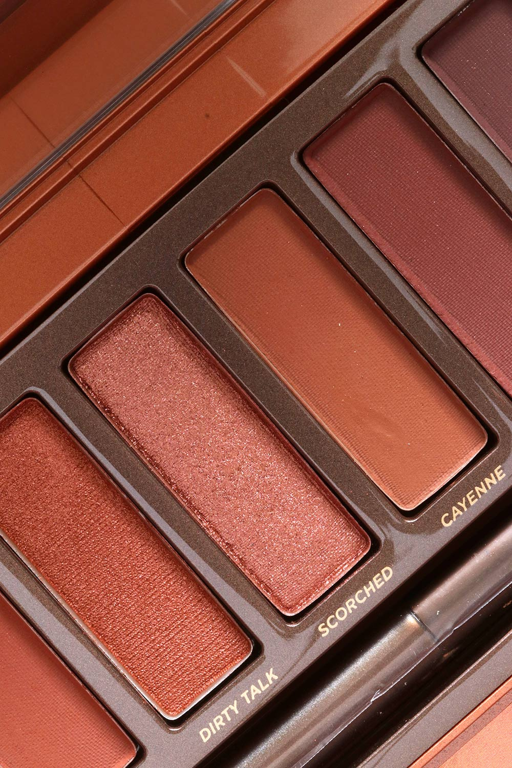 The Urban Decay Naked Heat Palette, 24/7 Glide-On Eye