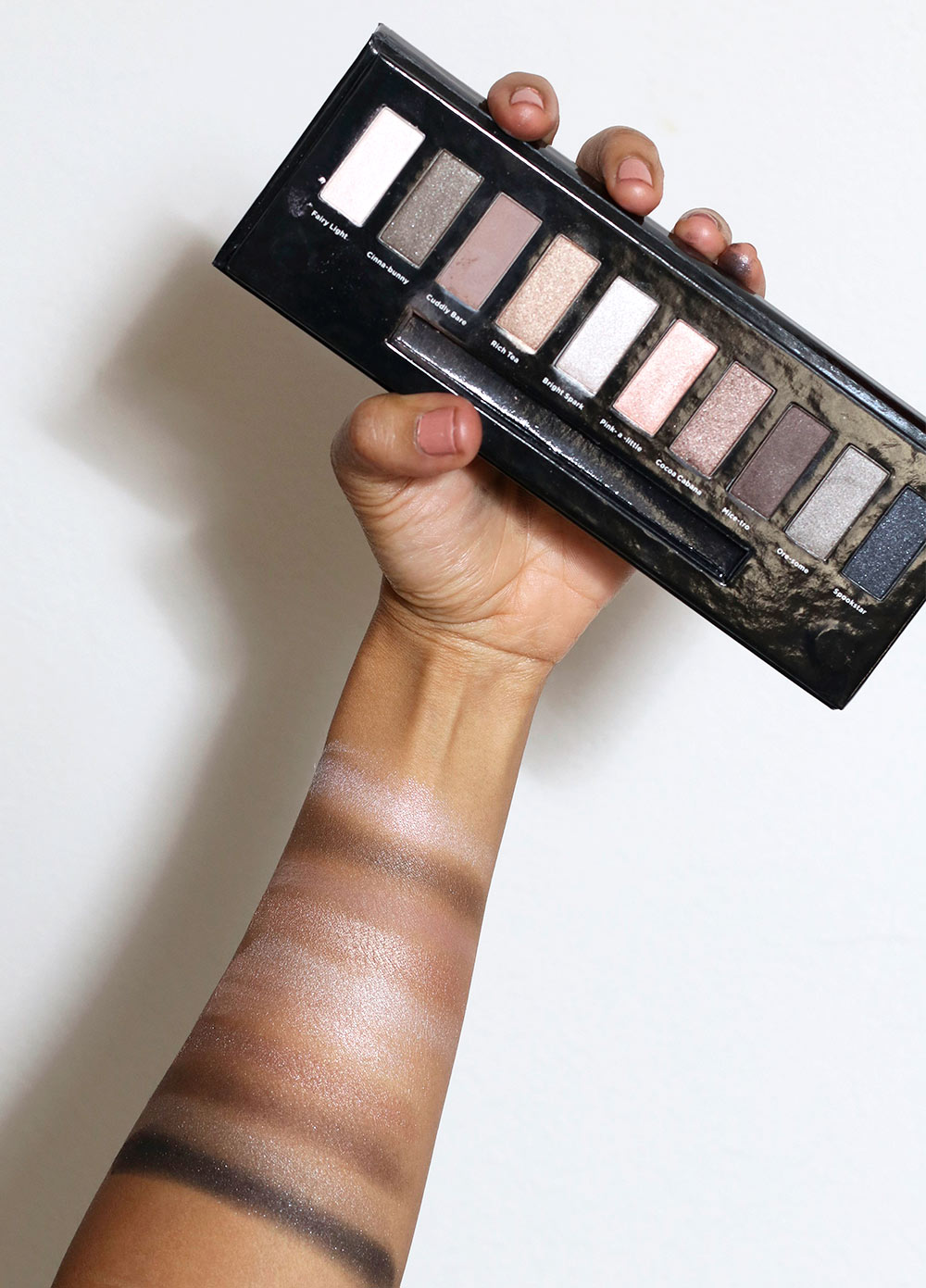 soap glory kick into neutral swatches