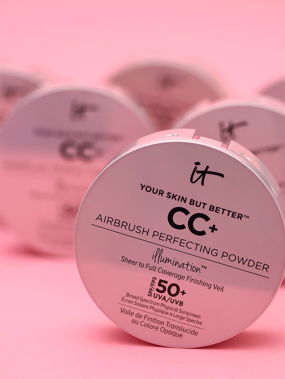 it cosmetics your skin but better airbrush perfecting powder illumination