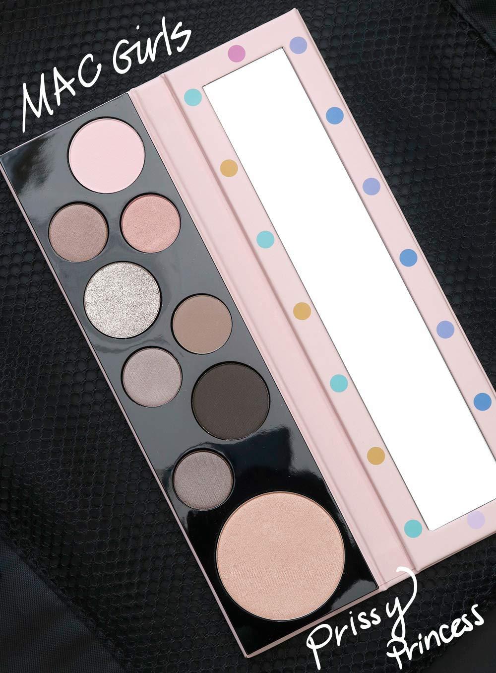 Znalezione obrazy dla zapytania MAC Prissy Princess Palette