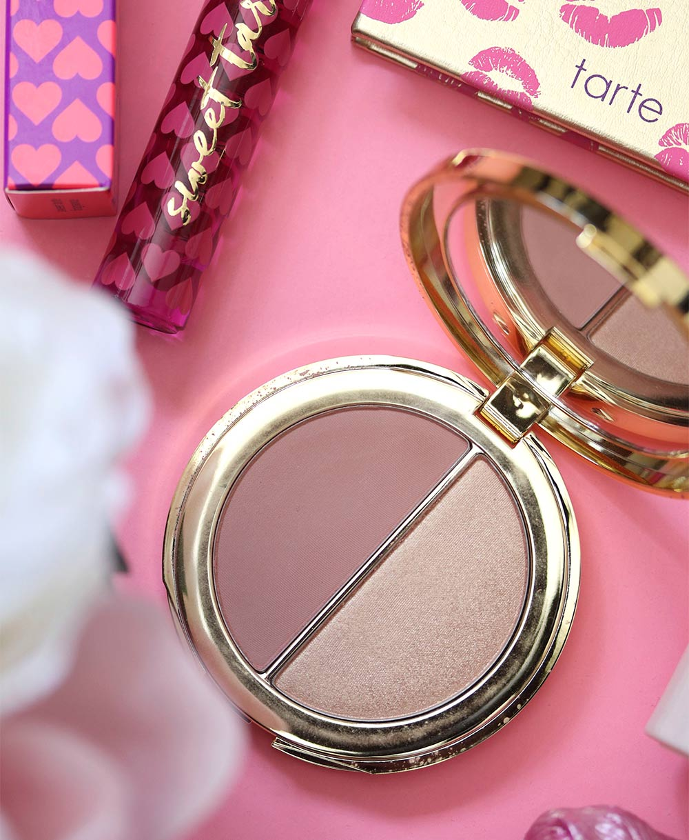 tarte rose gold blush glow