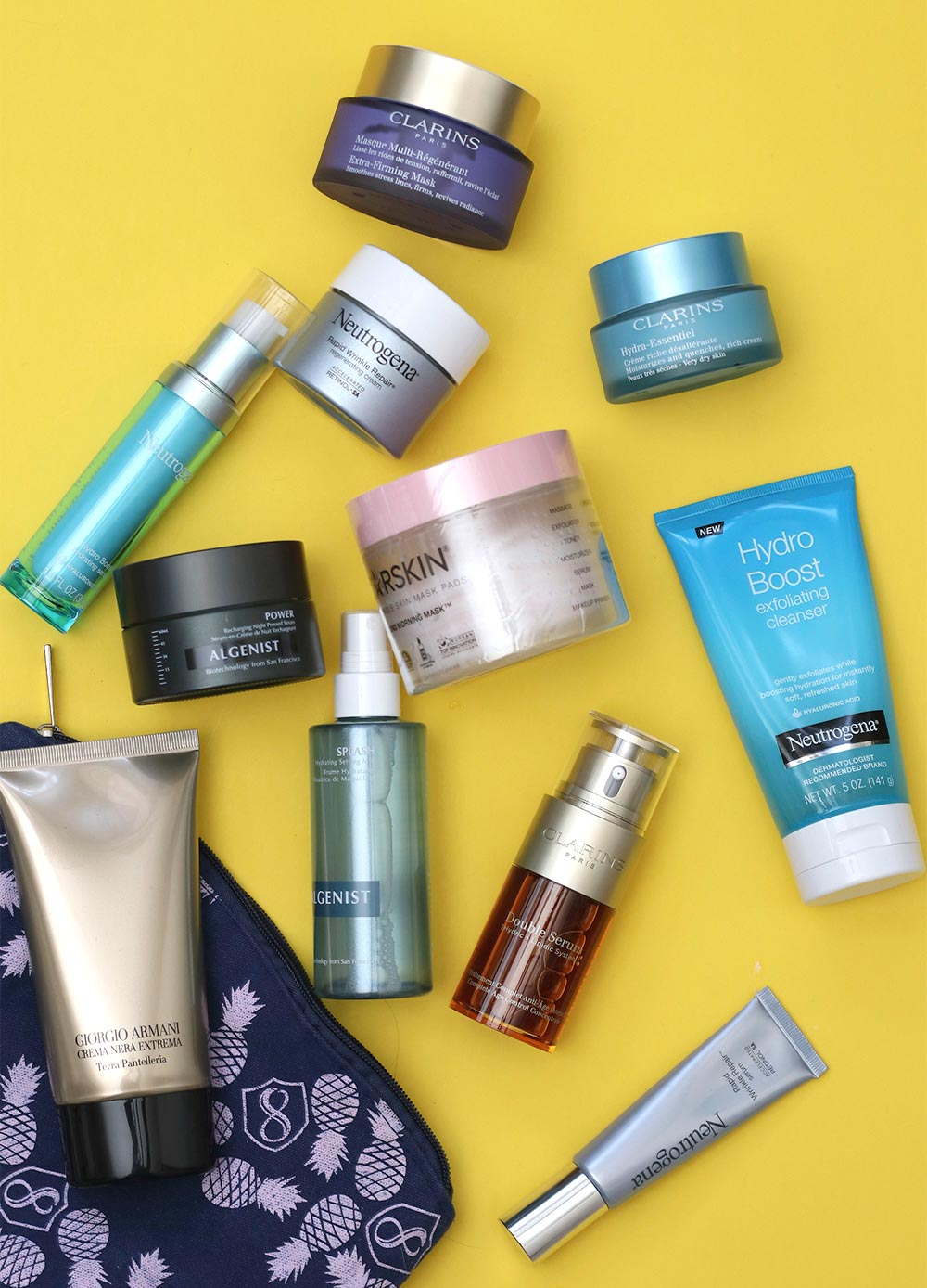 all the skin care