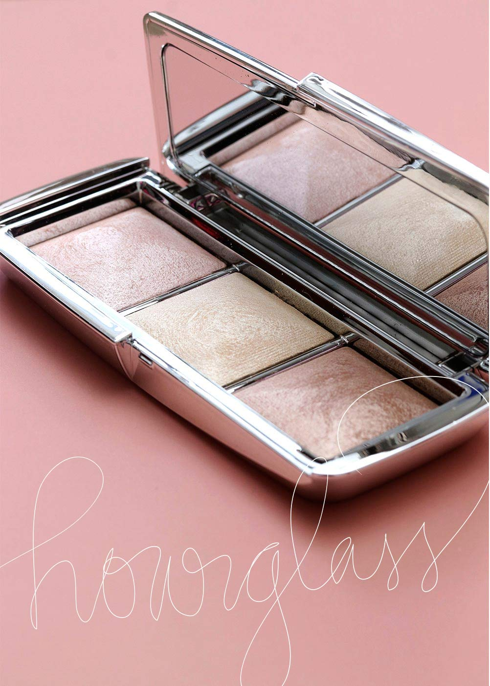 hourglass ambient metallic strobe lighting palette