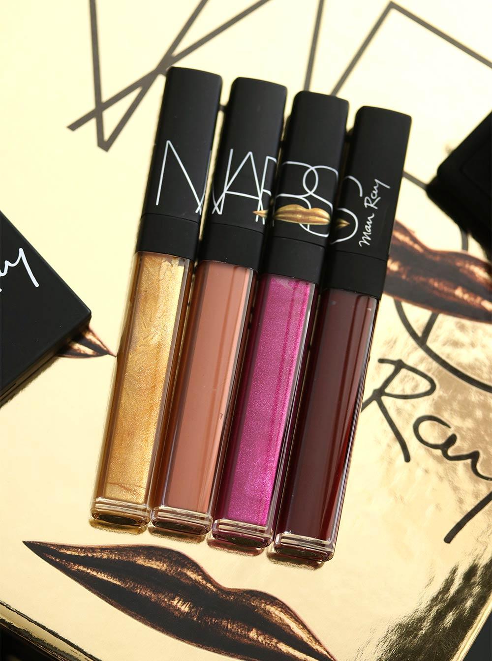 nars man ray for nars holiday 2017 photogloss lip lacquer