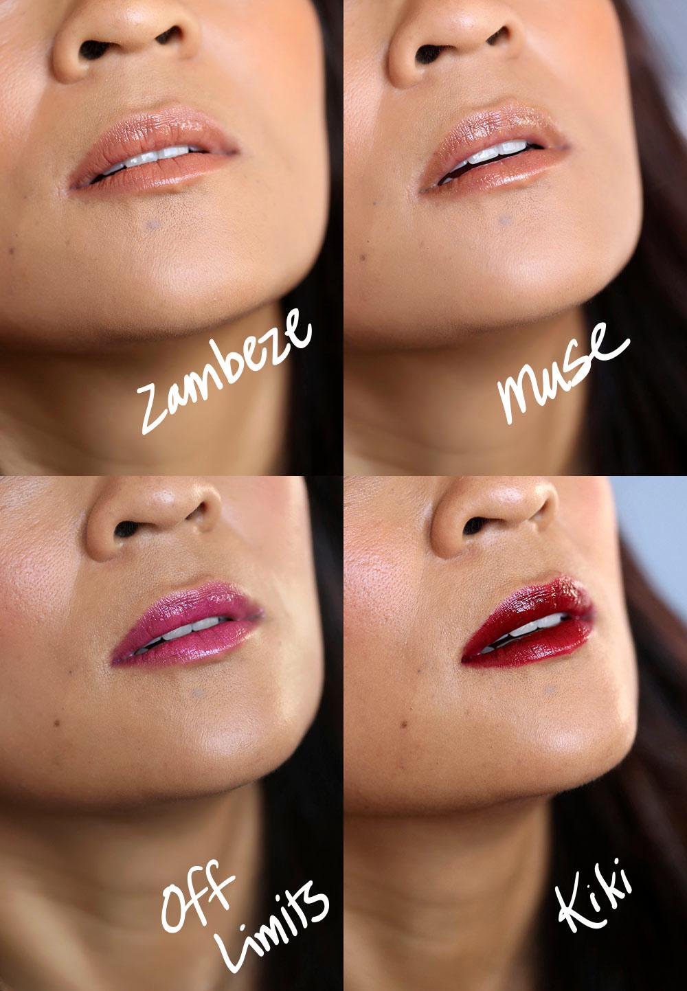 nars man ray for nars holiday 2017 photogloss lip swatches