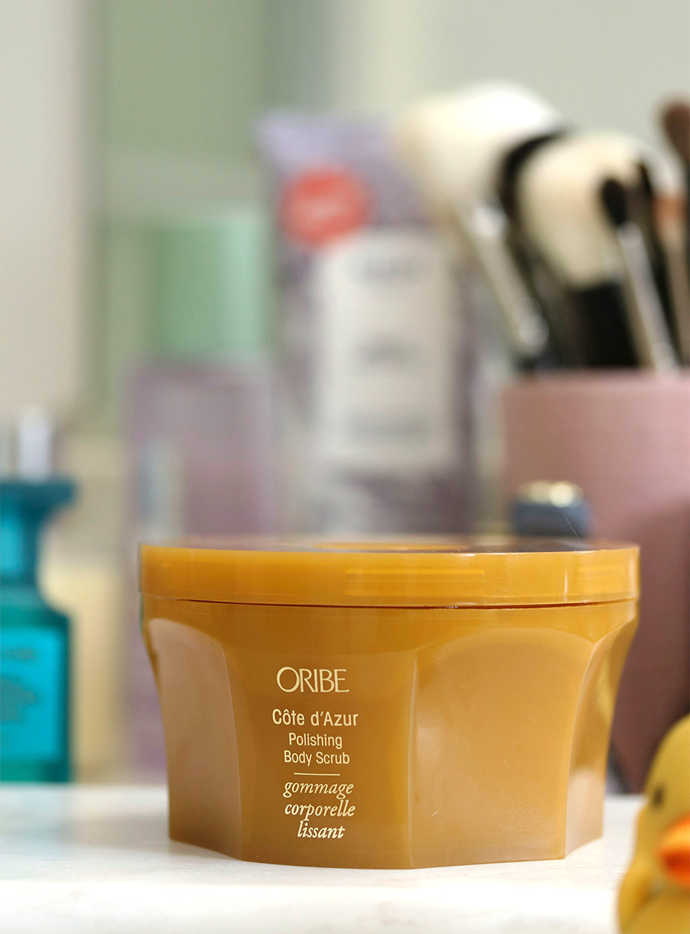 oribe body scrub