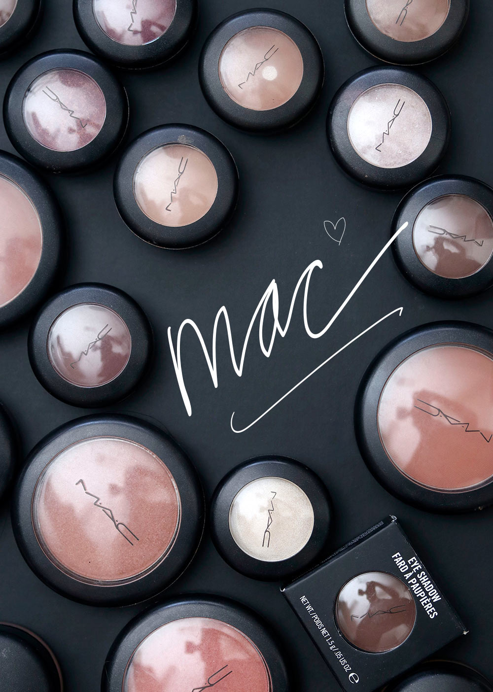 mac cosmetics flat lay final