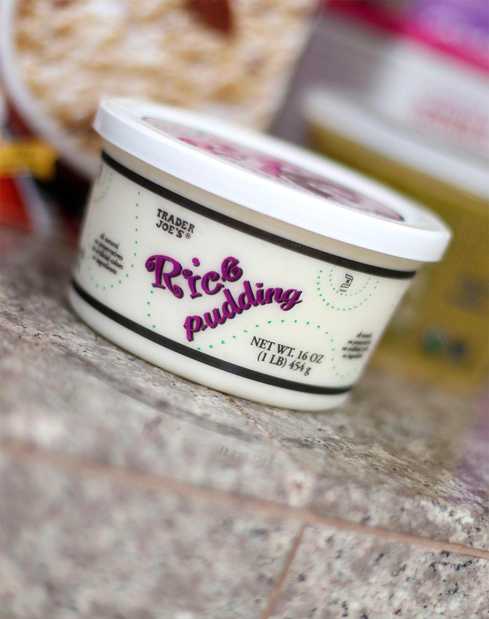 trader joes rice pudding