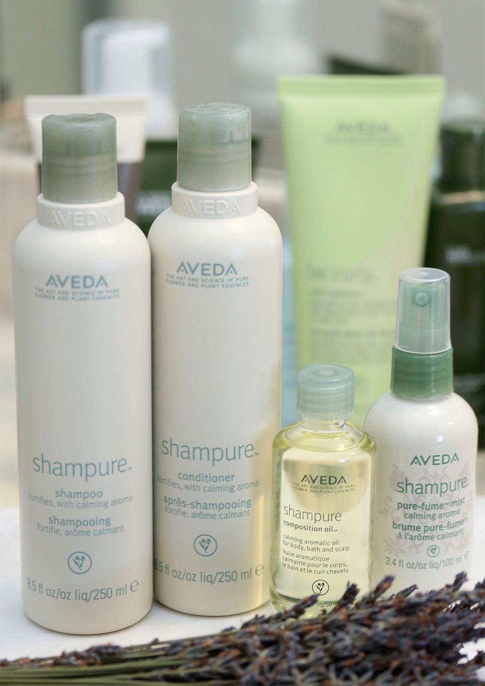 aveda shampure