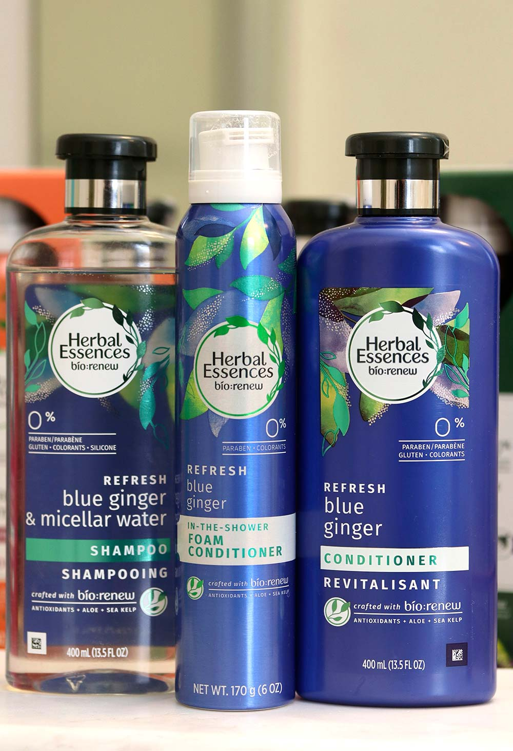 herbal essences blue ginger