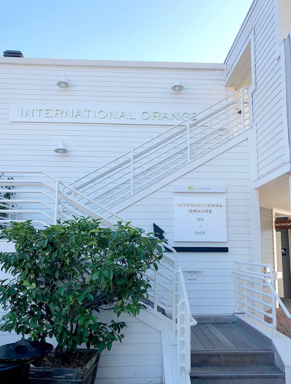 international orange spa marin
