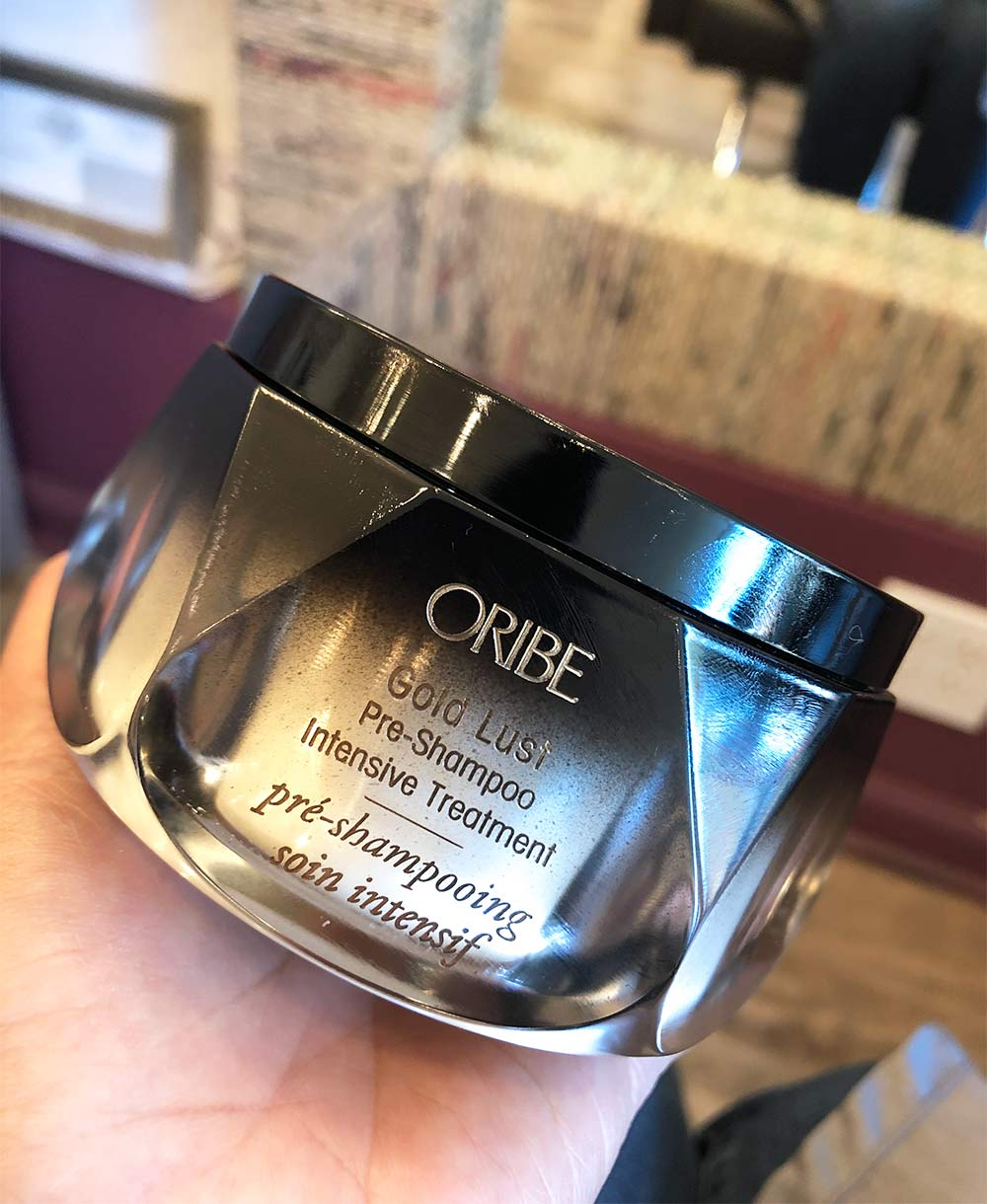 oribe pre shampoo treatment