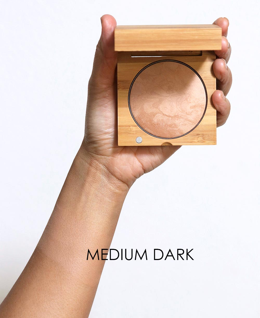 antonym baked foundation medium dark swatch
