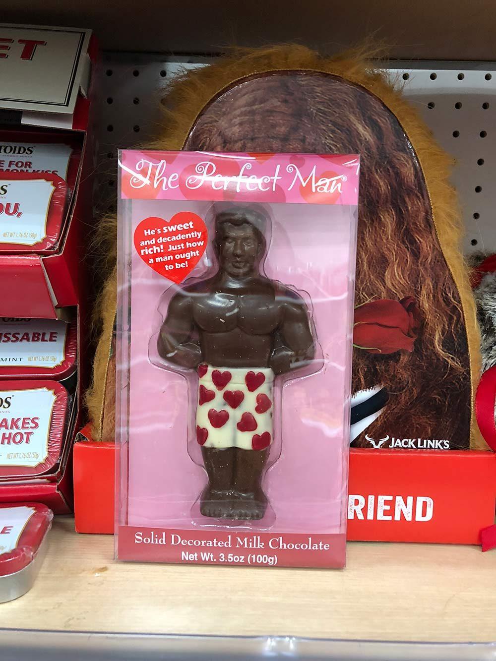 chocolate muscle dude