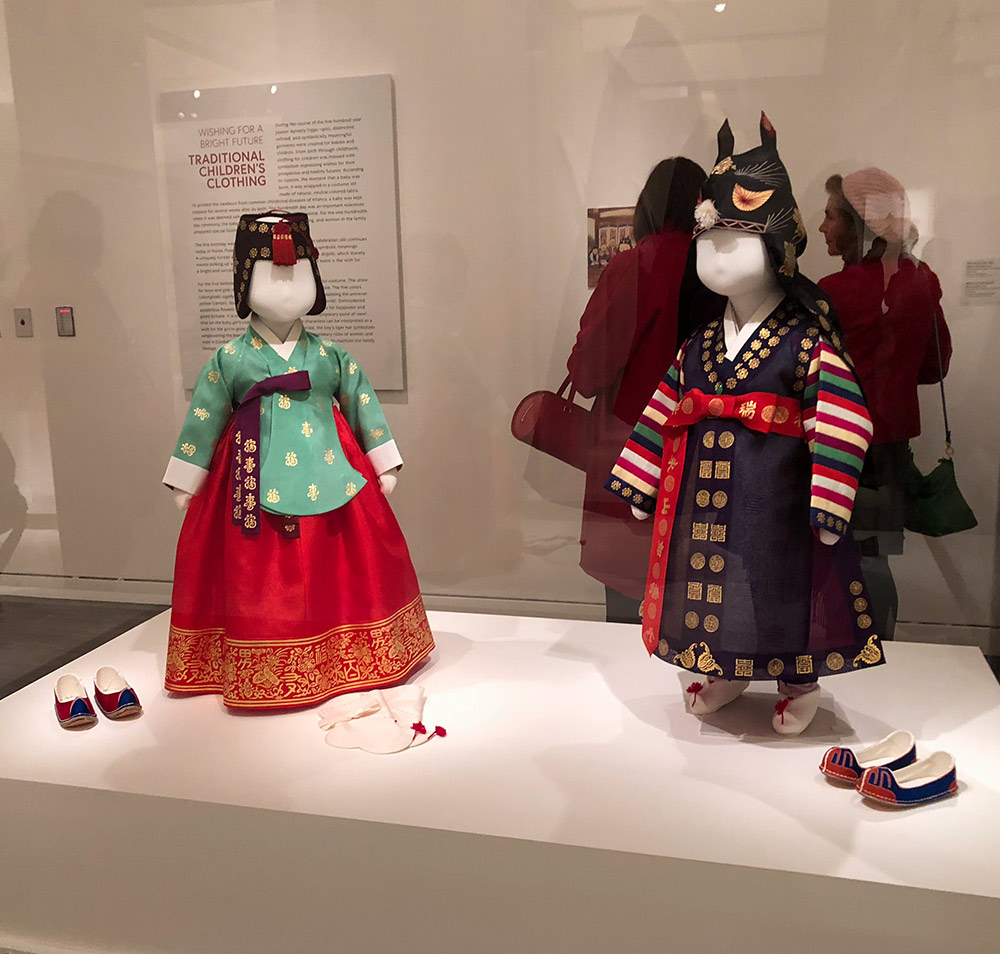 couture korea asian art museum boy and girl hanbok