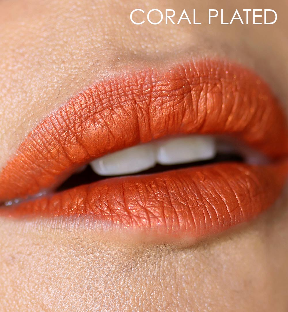 mac coral plated