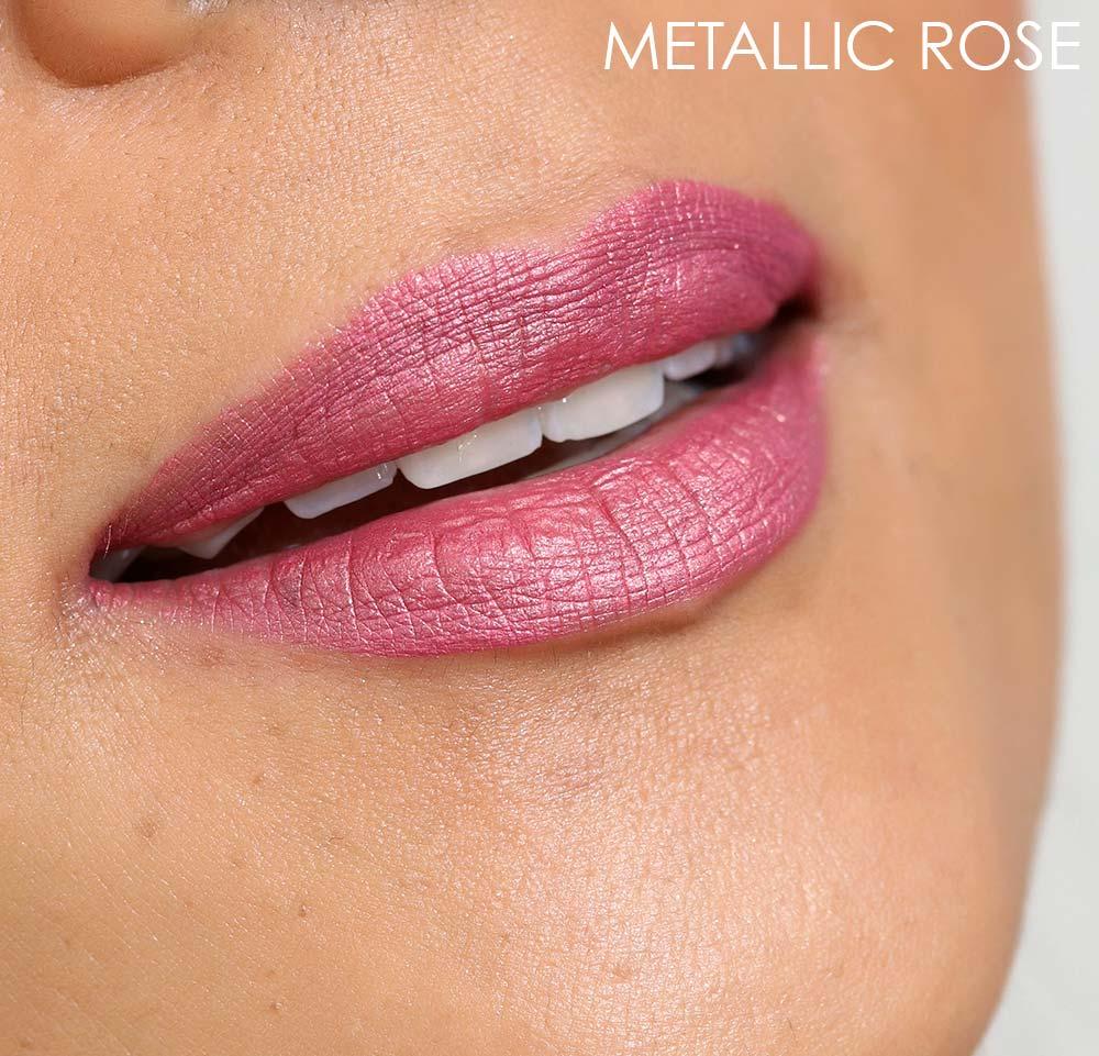 mac metallic rose